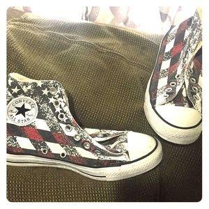 Converse Chuck All Stars American Flag Size 8